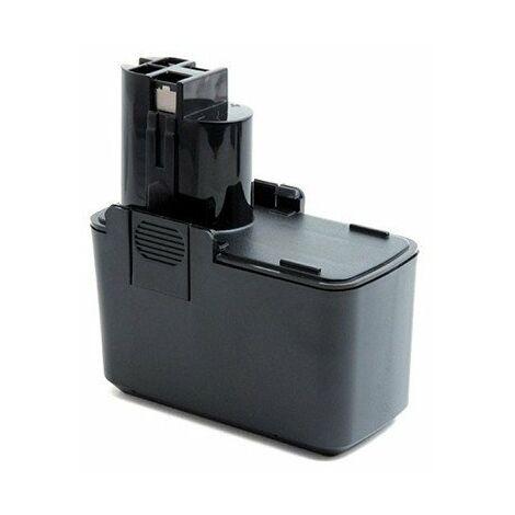 Batterie pour outillage électroportatif - 9,6V - 2,1Ah - NiMh - Noir