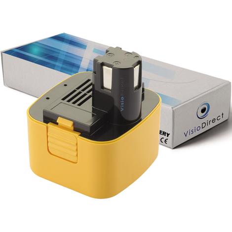 Batterie pour Panasonic EY3550DQG scie circulaire 3300mAh 12V