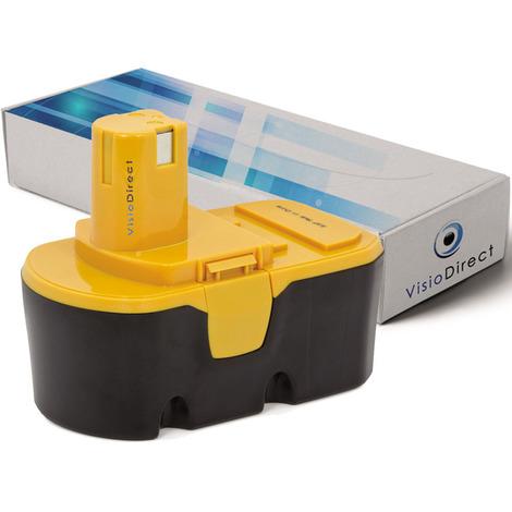 Batterie pour Ryobi BID1821 perceuse visseuse 3000mAh 18V