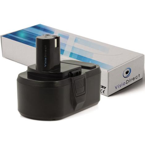 Batterie pour Ryobi P240 perceuse angulaire 3000mAh 18V