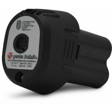 Batterie pour sécateur 7.2v lithium - Elem Garden