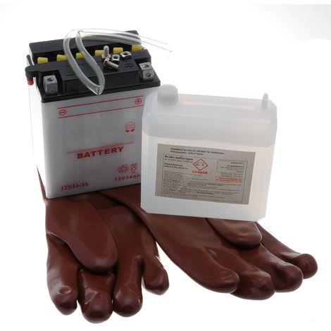 Batterie pour tracteur tondeuse autoportée