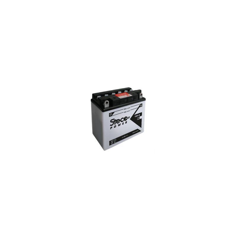 Stecopower - Batterie PREMIUM 12V 30Ah 280A Polarité DROITE 183x128x170 Gamme STECO Moto - 53030 (Y60-NL-B) - -
