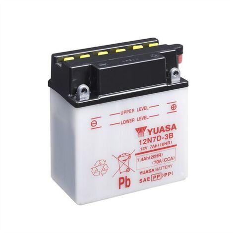 Batterie quad Yuasa 12N7D-3B 12v / 7Ah