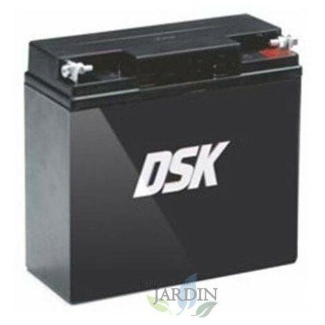 Batterie rechargeable 12V 18Ah cm: 18 x 7,7 x 16 cm