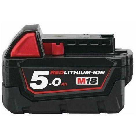 Batterie Red Lithium 18V 5,0Ah - Milwaukeee - M18 B5
