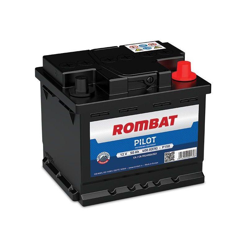 Batterie PILOT 12V 50ah 400A - Rombat