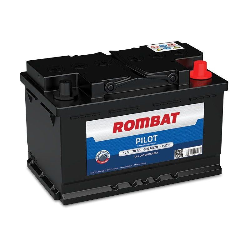 Batterie PILOT 12V 70ah 600A - Rombat