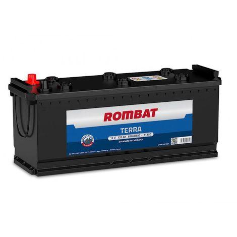 Batterie Rombat TERRA T135G 12V 135ah 800A