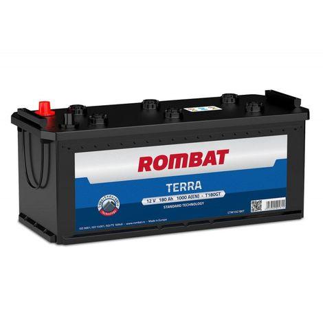 Batterie Rombat TERRA T180G 12V 180h 1000A