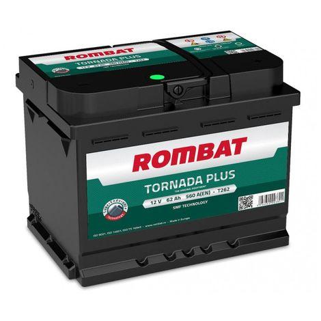 Batterie Rombat TORNADA T262 12V 62ah 560A