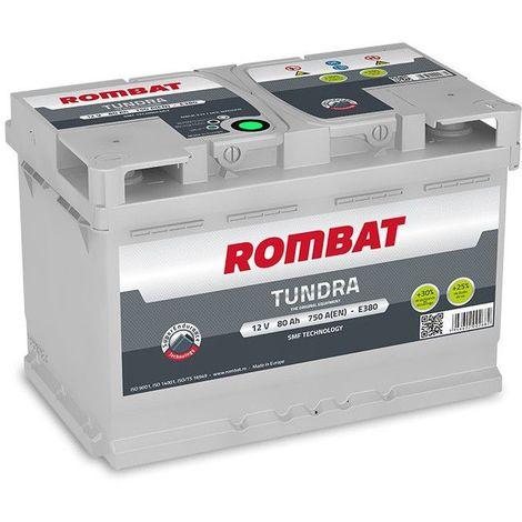 Batterie Rombat TUNDRA E380 12V 80ah 750A