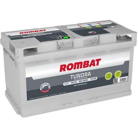 Batterie Rombat TUNDRA E5100 12V 100ah 900A