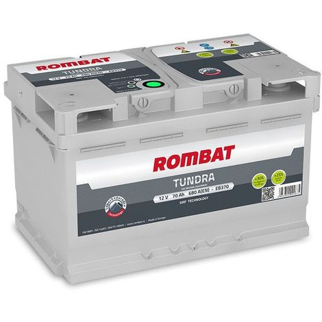 Batterie Rombat TUNDRA EB370 12V 70ah 680A