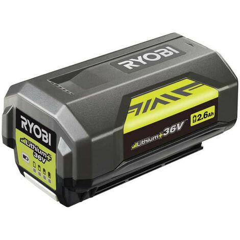 Batterie RYOBI 36V LithiumPlus 2.6 Ah BPL3626D2