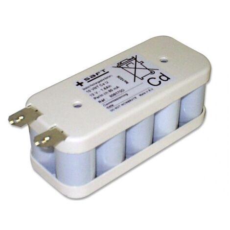 Batterie Saft 12V 1.6Ah 10 VNTCs Flasque 134890, 805170