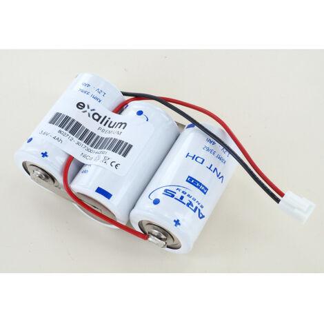 Batterie Saft 3.6V 4Ah 3 KRMT 33/62 ref 802712