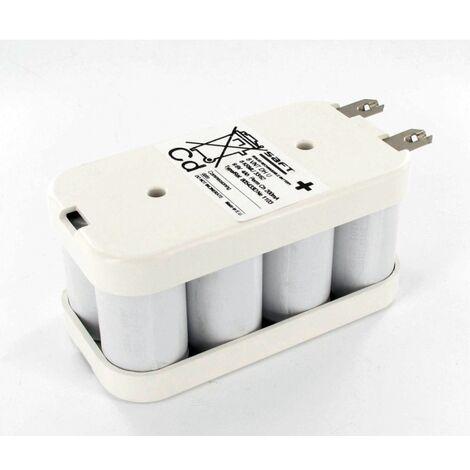 Batterie Saft 9.6V 4Ah 8 VNT DH NiCd flasque 805433