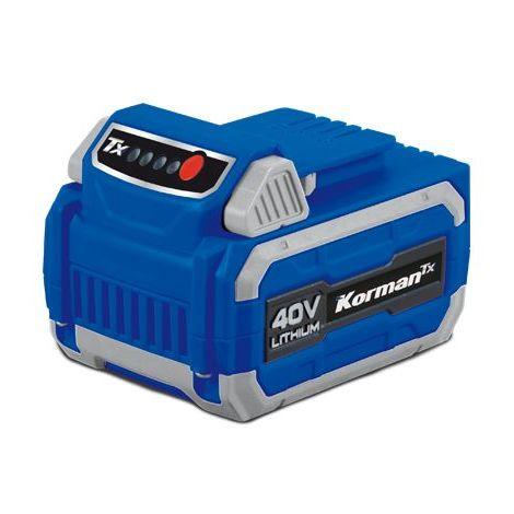 Batterie Samsung 40V multi-produits pour outils de Jardin Korman Tx