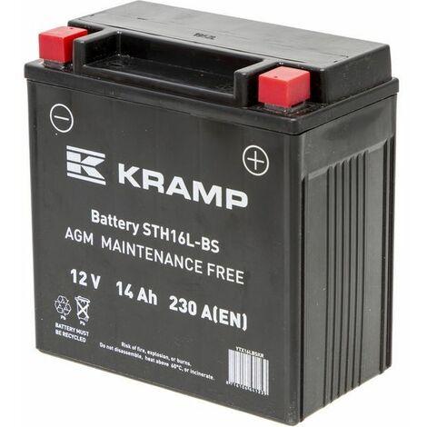 Batterie sèche 12V - 14Ah + à droite