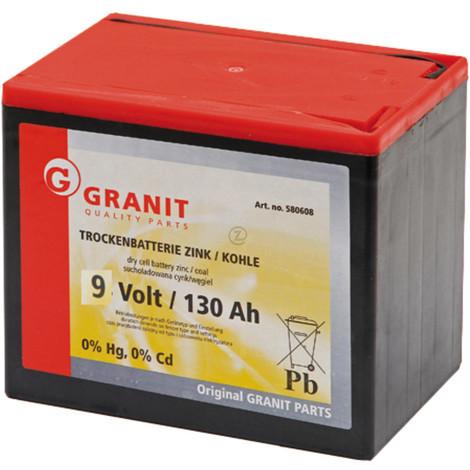 Batterie sèche 9V 130Ah - Universel