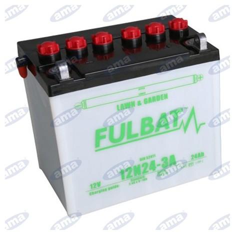 Batterie sèche universelle pour tracteur 24Ah / 12V / 130 Ampères