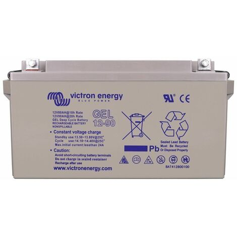 Batterie solaire 90ah gel 12v victron energy