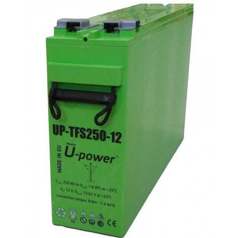 Batterie SOLAR 12Vdc 250Ah C100 555x125x320
