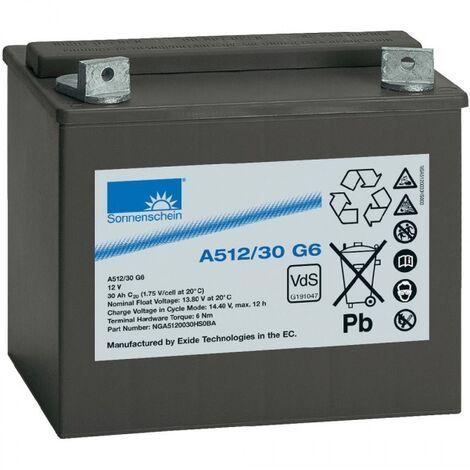Batterie Sonnenschein Plomb Gel 12V 30Ah A512/30 G6