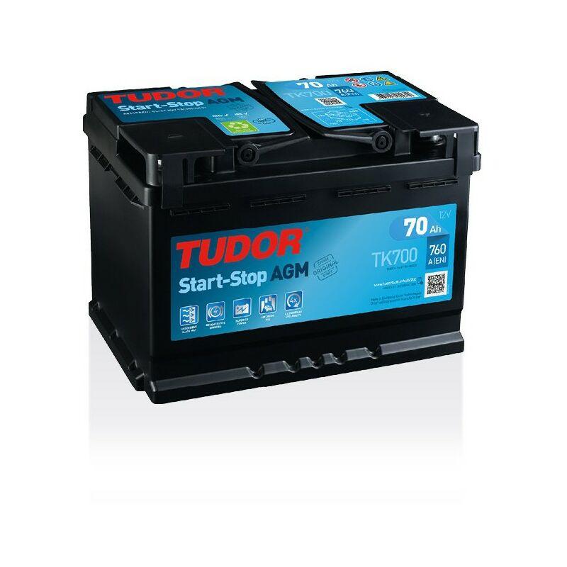 Batterie Start-stop AGM TK700 12V 70Ah 760A - Tudor