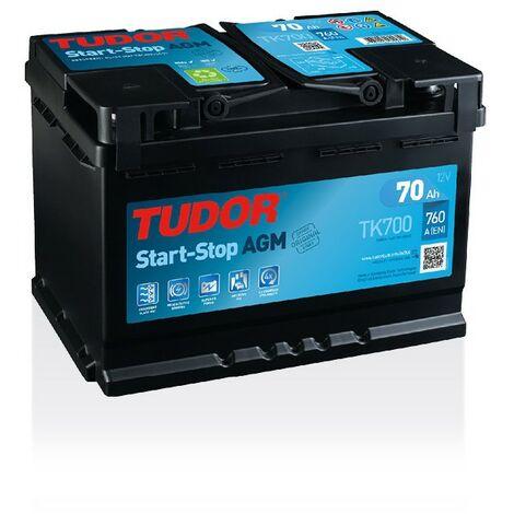 Batterie Start-stop AGM TUDOR TK700 12V 70Ah 760A