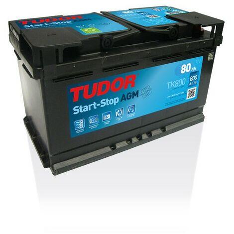Batterie Start-stop AGM TUDOR TK800 12V 80Ah 800A
