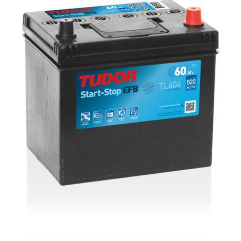 Batterie Start-stop EFB TUDOR TL604 12V 60Ah 520A