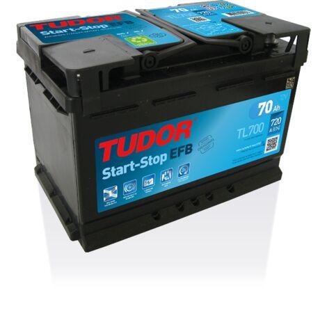 Batterie Start-stop EFB TUDOR TL700 12V 70Ah 630A