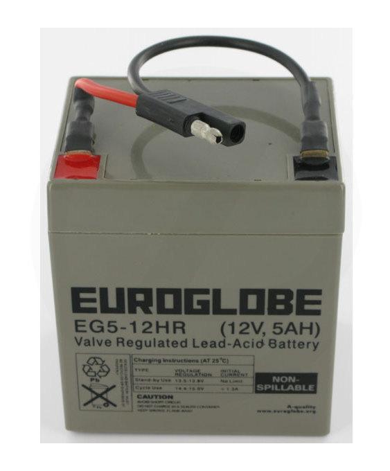 Batterie 12V 5Ah - Stiga