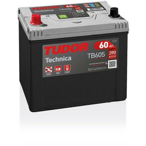 Batterie TECHNICA TUDOR TB605 12V 60Ah 390A