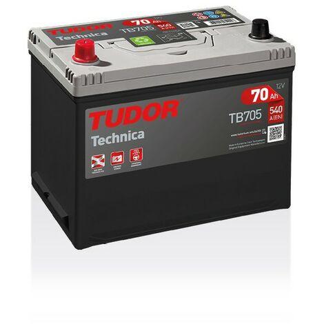 Batterie TECHNICA TUDOR TB705 12V 70Ah 540A