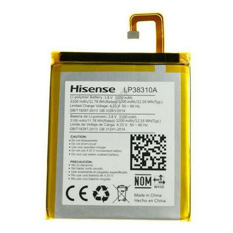 Batterie t/él/éphone GSM 3.7V 2500mAh AC55HE ; BSF06 ; AC55HEU ; 1ICP4 Smartphone NX