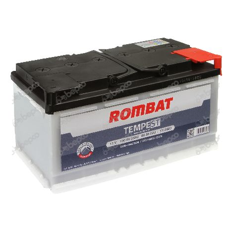 BATTERIE TEMPEST 12V 100AH - CLOTURE