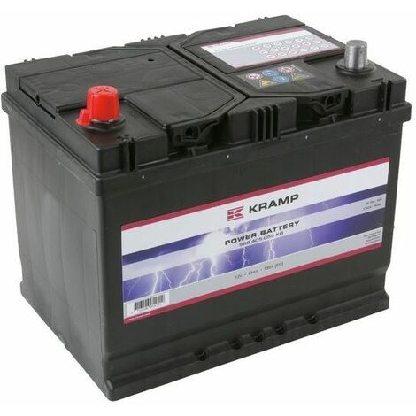Batterie tondeuse autoportée 12V - 68Ah