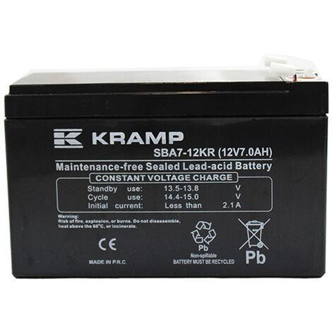 Batterie tondeuse autoportée 12V - 7.5Ah