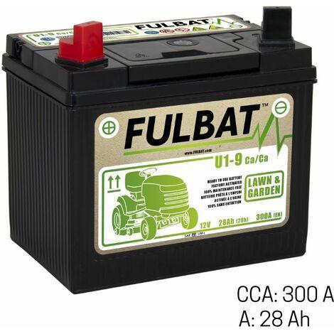 Batterie tracteur tondeuse 12V - 28Ah + gauche