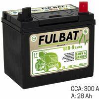 Batterie tracteur tondeuse 28Ah +droite