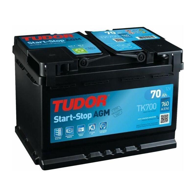 Batterie Start-Stop AGM 70Ah/760A TK700 - Tudor