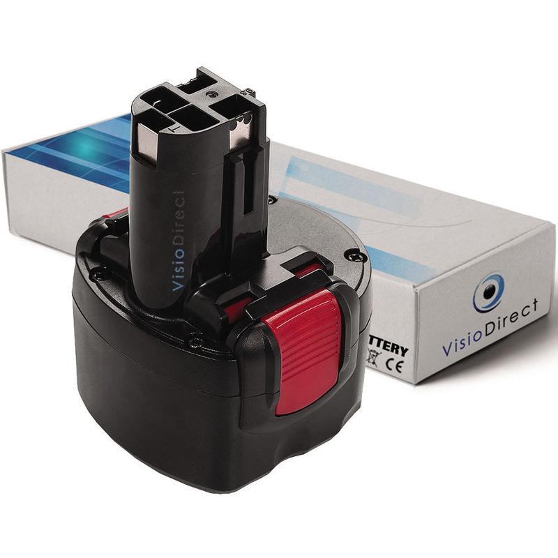 Batterie type 2 607 335 539 2 607 335 707 2 607 335 540 pour Bosch 3000mAh 9.6V -VISIODIRECT-