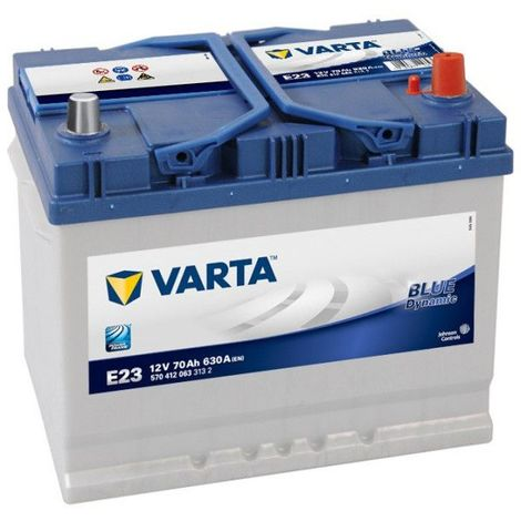 Batterie Varta Blue Dynamic E23 12v 70ah 630A 570 412 063
