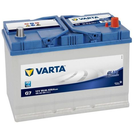 Batterie Varta Blue Dynamic G7 12v 95ah 830A 595 404 083