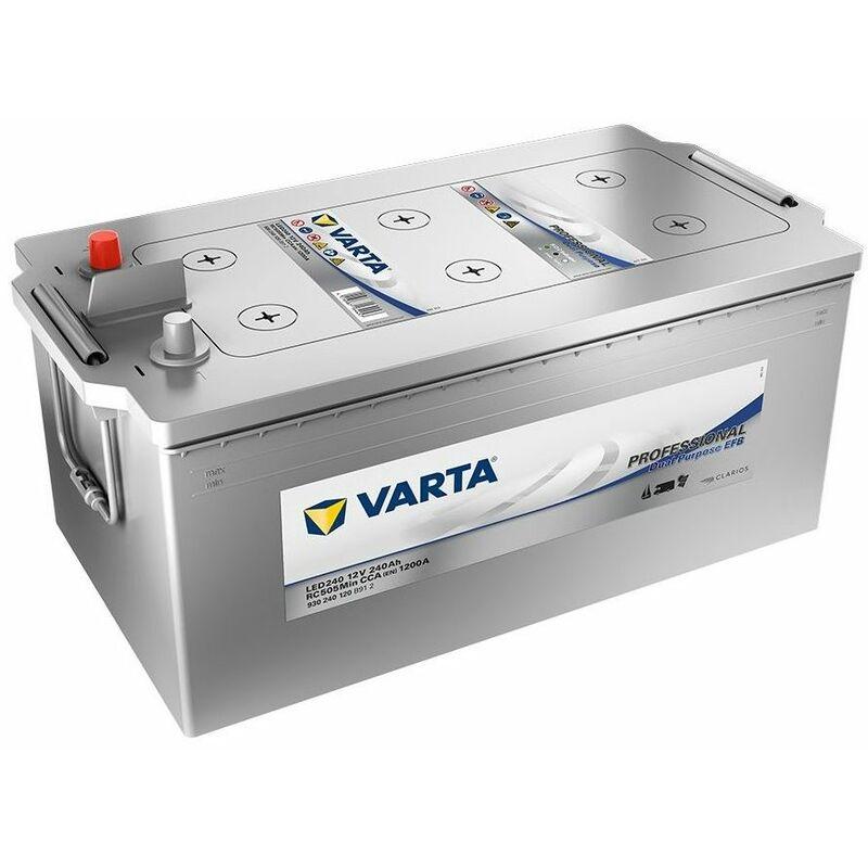 Batterie Varta Dual Purpose Efb Led240 12V 240Ah 1200A