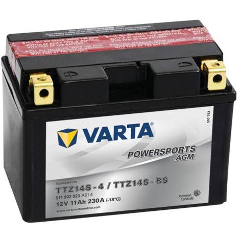 Batterie Varta Powersports AGM TTZ14S-4 - 12V 11Ah 230A