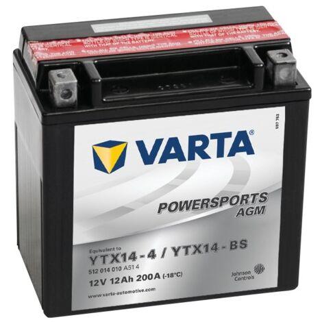 Batterie Varta Powersports AGM YTX14-4 - 12V 12Ah 200A